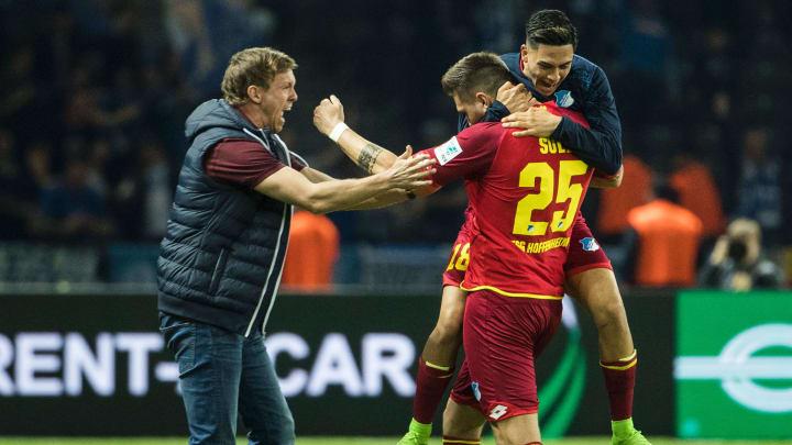 Julian Nagelsmann und Niklas Süle kennen sich bereits aus Hoffenheim. Die Zukunft des Abwehrspielers ist jedoch ungewiss.