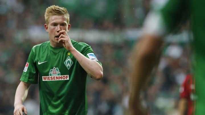 Kevin De Bruyne Werder Bremen Bundesliga Wolfsburg