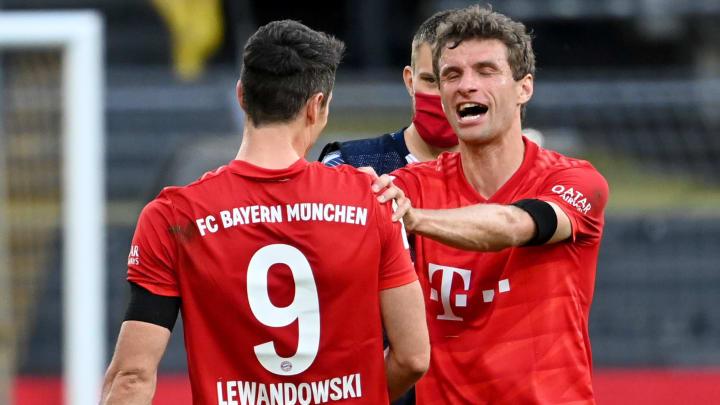 Lewandowski und Müller sind ein tödliches Duo