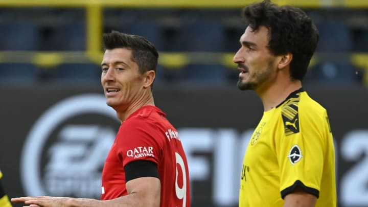 Auf dem Feld nehmen sich Hummels und Lewandowski nichts