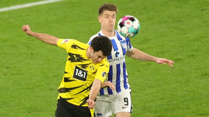 Mateu Morey hat sich gegen die Hertha eine Muskelverletzung zugezogen