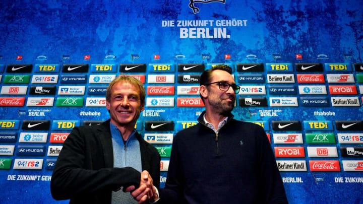 Fast schon vergessen: Jürgen Klinsmann und Michael Preetz vor nur wenigen Monaten