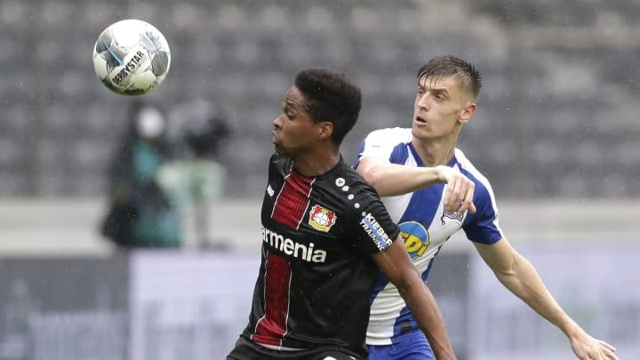 Vergangene Saison noch Konkurrenten, bald aber Teamkollegen? Wendell und Hertha-Stürmer Piatek