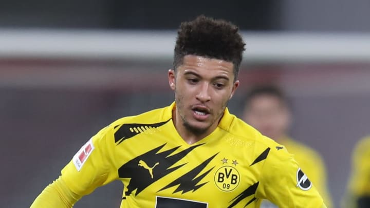 Jadon Sancho had been in poor form after Man Utd failed to buy him
