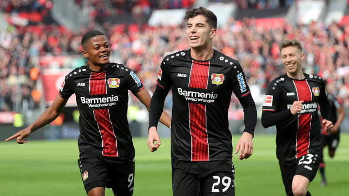 Havertz and Bailey have emerged as two of the Bundesliga's brightest prospects