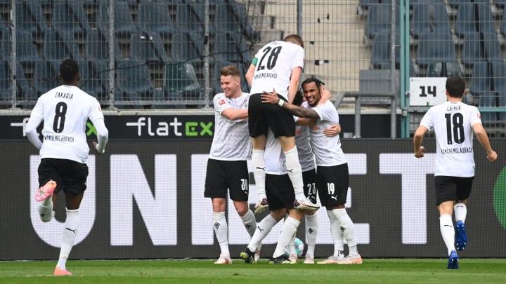 Die Borussia legte eine saubere Leistung auf das Parkett