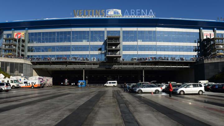 Hier wird demnächst Zweitliga-Fußball gespielt: die Veltins-Arena