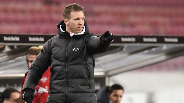 Ist mit einer ganz bestimmten Eigenschaft seiner Mannschaft nicht zufrieden: RB Leipzigs Trainer Julian Nagelsmann