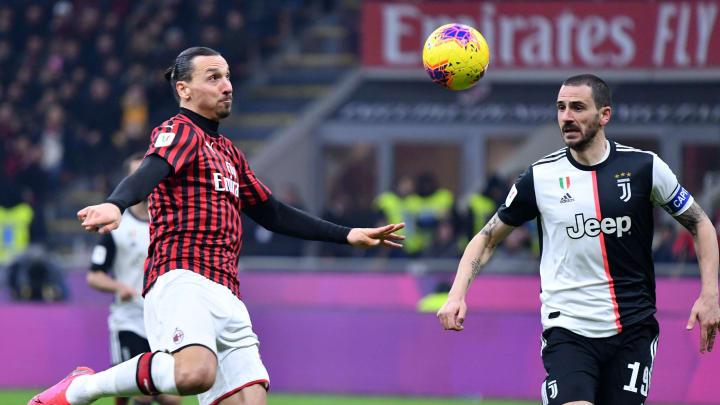 Zlatan Ibrahimovic dan Leonardo Bonucci