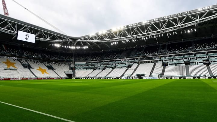 Serie A no Allianz Stadium.