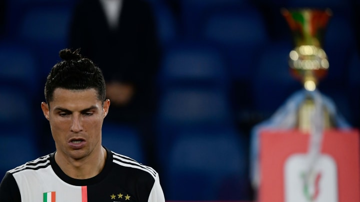 Ronaldo's Juventus lost the Coppa Italia final to Napoli on Wednesday