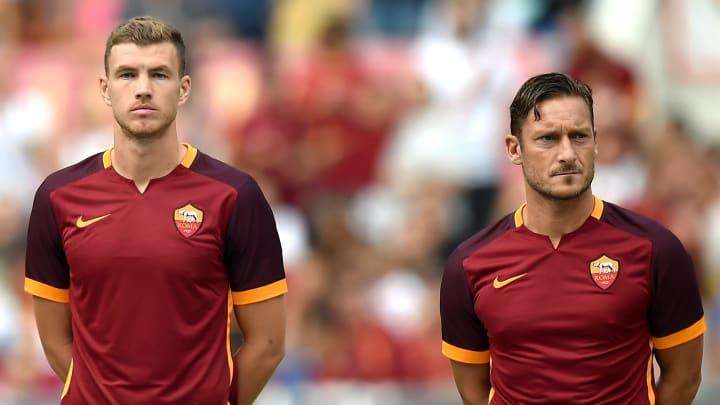 Edin Dzeko, Francesco Totti