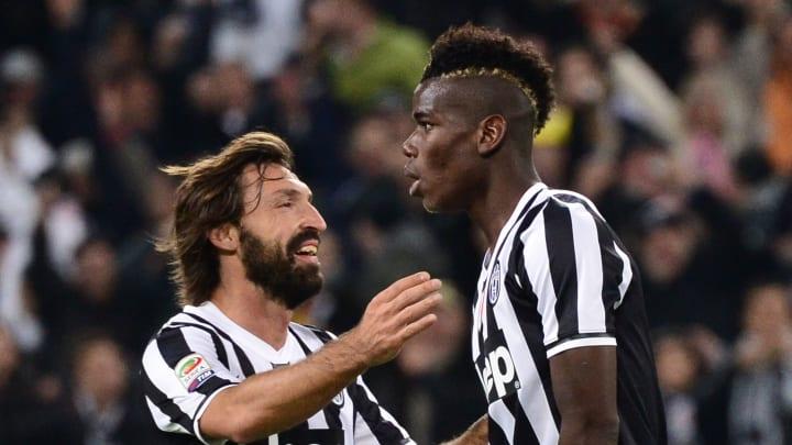Pirlo y Pogba llegaron gratis a la Juventus de Turín