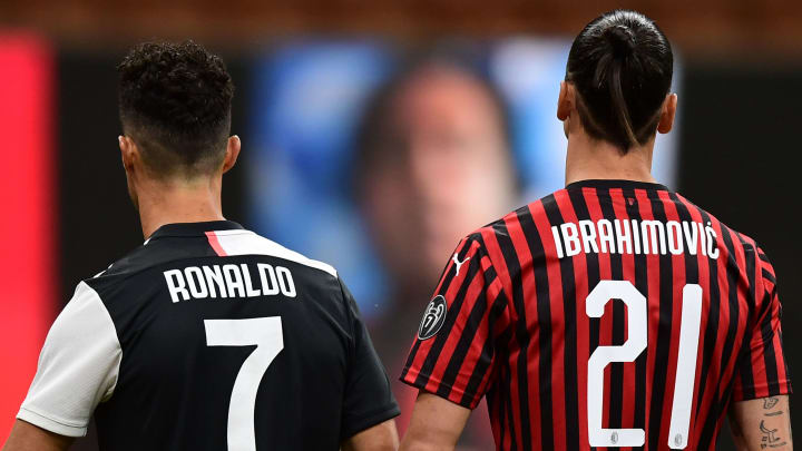The two Serie A goats