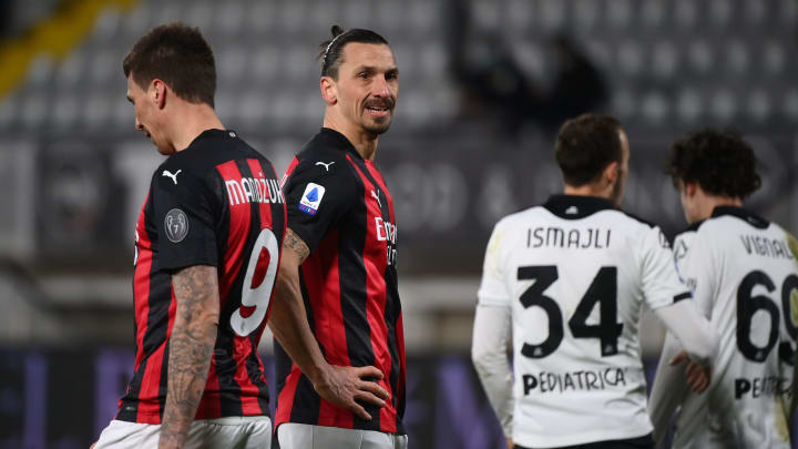 Milan slumped to a disappointing and costly defeat away to Spezia, who were deserved winners