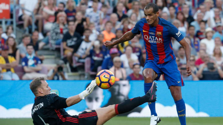 Rivaldo está entre os melhores brasileiros que já passaram pelo Barcelona.