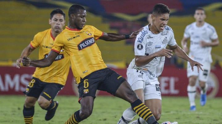 Santos foi derrotado pelo Barcelona, no Equador