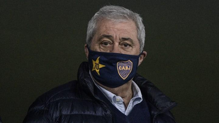 Presidente do Boca Juniors, Jorge Ameal falou para o River Plate ter cuidado contra o Atlético-MG: 'Tem relação com o poder'.
