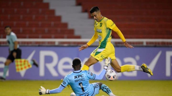 Del Valle Palmeiras Libertadores Defensa y Justicia