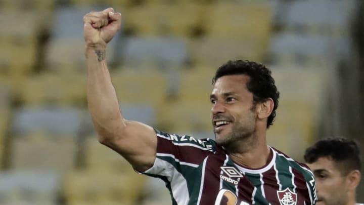 Fred anotou o gol da vitória tricolor no Maracanã