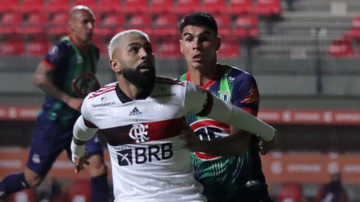 Gabigol se isolou no topo dos artilheiros do Flamengo em Libertadores