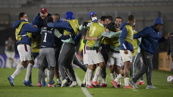 Fluminense venceu River Plate por 3 a 1 em Buenos Aires