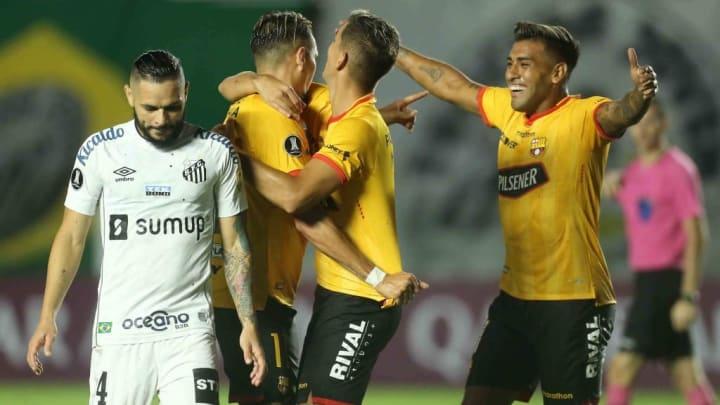 Barcelona Santos Libertadores