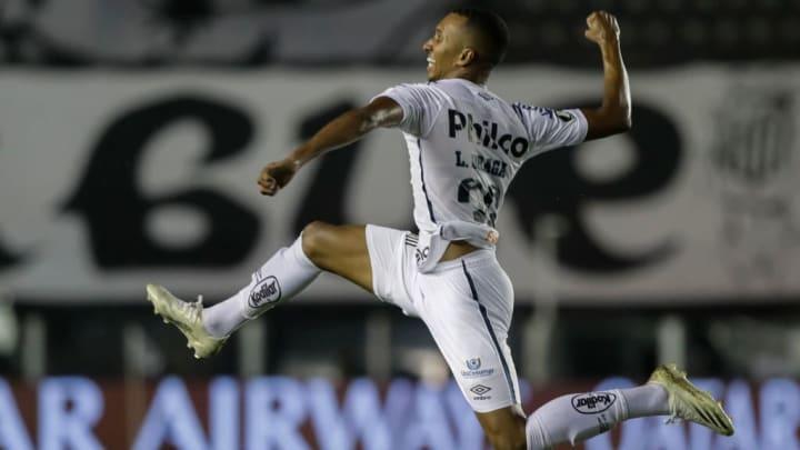 Libertadores Santos Deportivo Lara Pré-Jogo