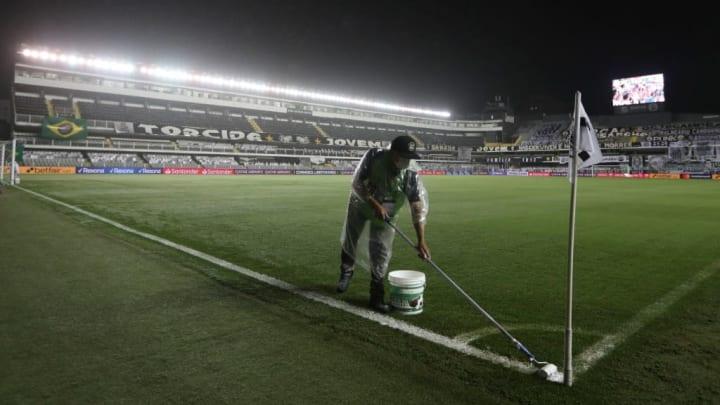 Estádio Urbano Caldeira Vila Belmiro Santos Atlético-GO