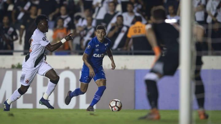 Vasco e Cruzeiro se enfrentaram na Libertadores de 2018