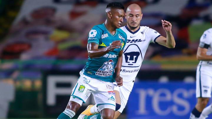 Pumas perdió el invicto frente al León