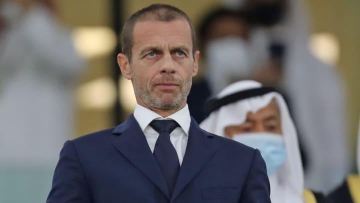 UEFA president Aleksander Ceferin wants punishments for the Super League sides