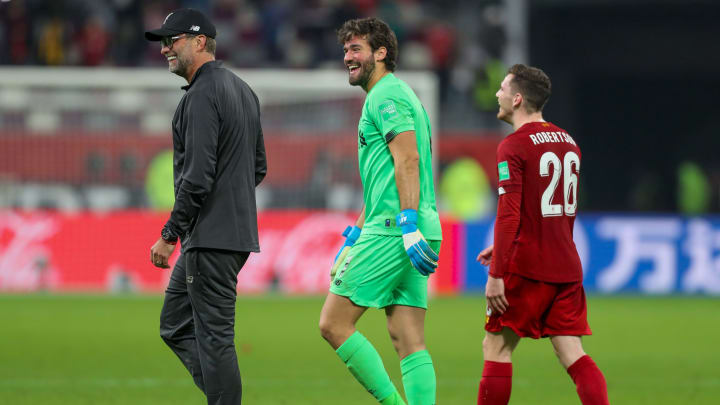 Following the defeat by Leicester, rumours emerged of a bust-up between Andy Robertson and Alisson
