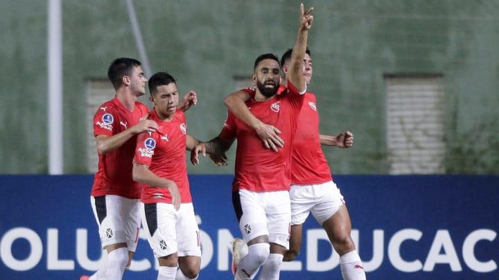 Independiente hizo un gran partido ante Bahía y se llevó un gran punto.