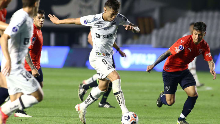 Atacante marcou único gol da partida frente ao Independiente