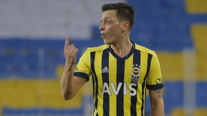 Mesut Ozil joined Fenerbahce from Arsenal in January