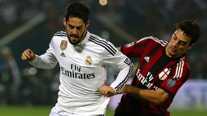 FBL-UAE-FRIENDLY-REAL MADRID-AC MILAN