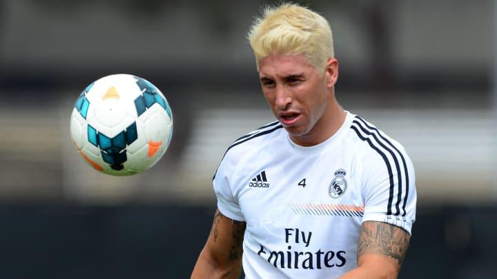 Sergio Ramos sorprendió al mundo entero cuando apareció con el pelo amarillo