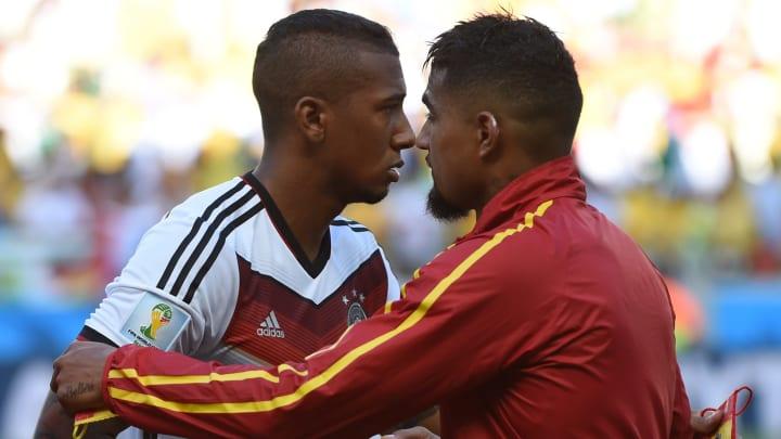 Jérôme Boateng et son frère Kevin-Prince Boateng s'étaient affrontés lors d'un Allemagne-Ghana, durant le Mondial 2014.