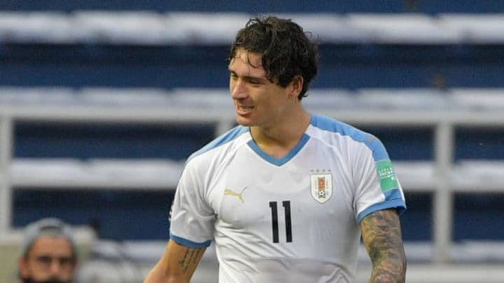 Darwin Nuñez juega en el Benfica