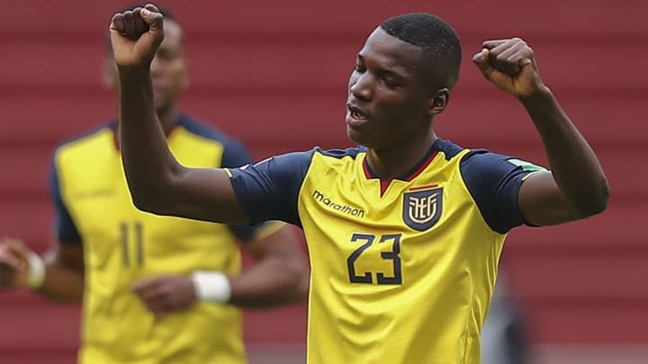 Manchester United are keen on Moises Caicedo