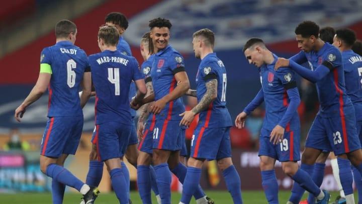 Inglaterra, San Marino, Eliminatórias Europeias