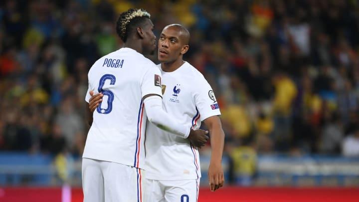 Pogba und Martial