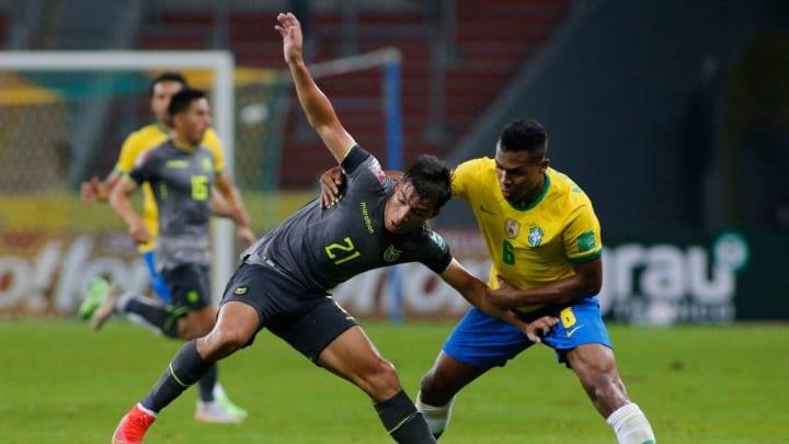 Alan Franco Seleção Equatoriana Eliminatórias Copa América