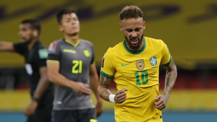Brasil venceu o Equador nas Eliminatórias
