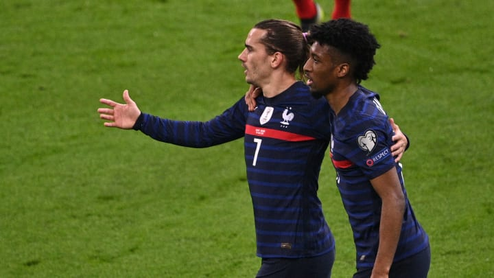 Griezmann adelantó a Francia