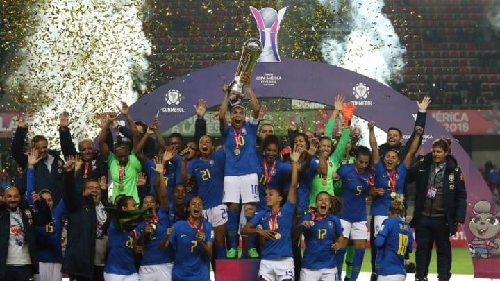 Copa America feminina Brasil campeão