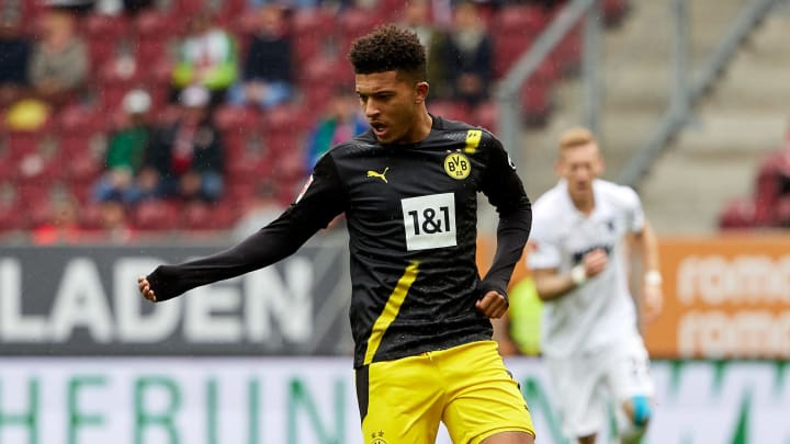 Jadon Sancho is United's number one target for the summer window
