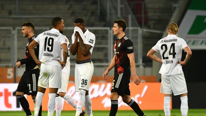 Der FC Bayern siegt knapp gegen Augsburg