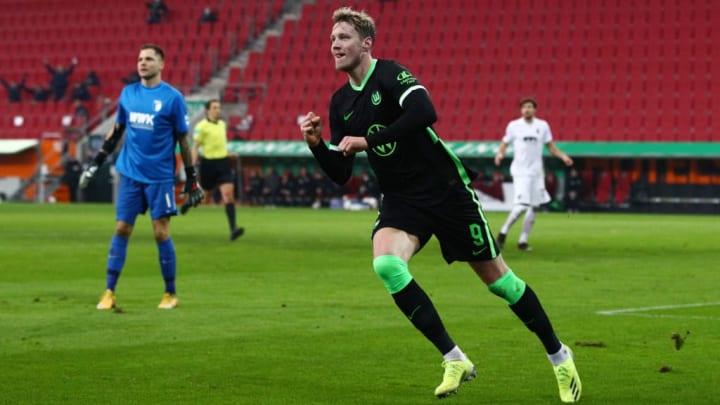 Wout Weghorst will den VfL Wolfsburg nicht auf Biegen und Brechen verlassen